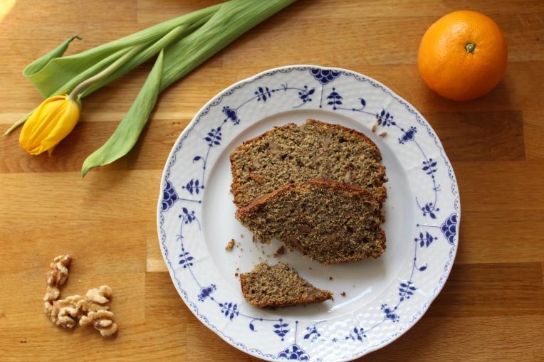 plumcake integrale al grano saraceno senza glutine